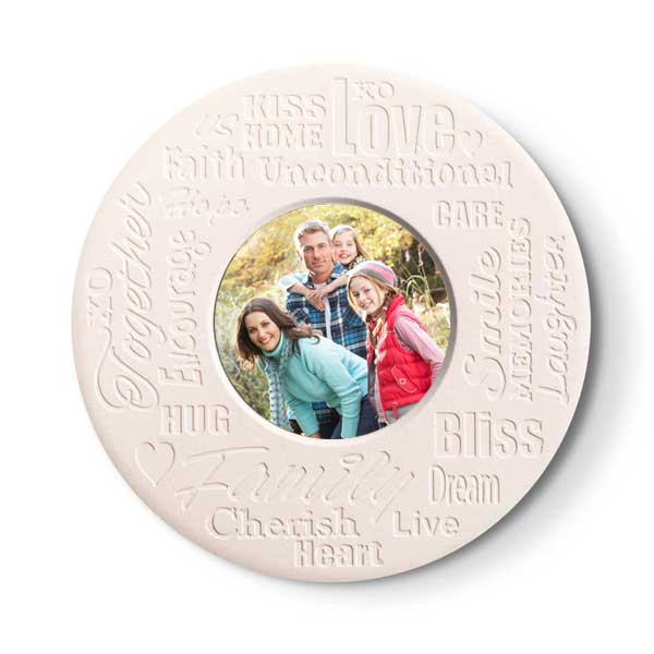 Inspirational stone coasters are perfect for a loving family and warming their home