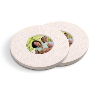 Create inspirational stone coasters for your home or as a gift, just add your own photo