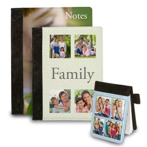 Personalize your note taking experience with photo sublimation folio notebooks